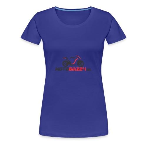 Logo von MotoBike24.eu - Frauen Premium T-Shirt
