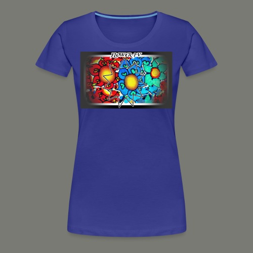 Flower TV - Frauen Premium T-Shirt