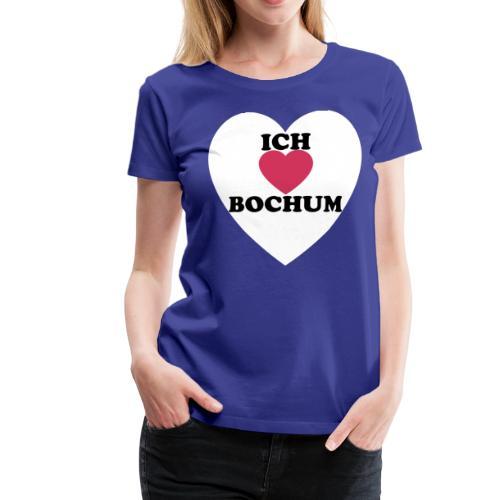 Ich liebe Bochum - Frauen Premium T-Shirt