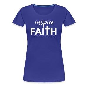 inspire faith white - Vrouwen Premium T-shirt