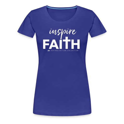 inspire faith white - Vrouwen Premium T-shirt
