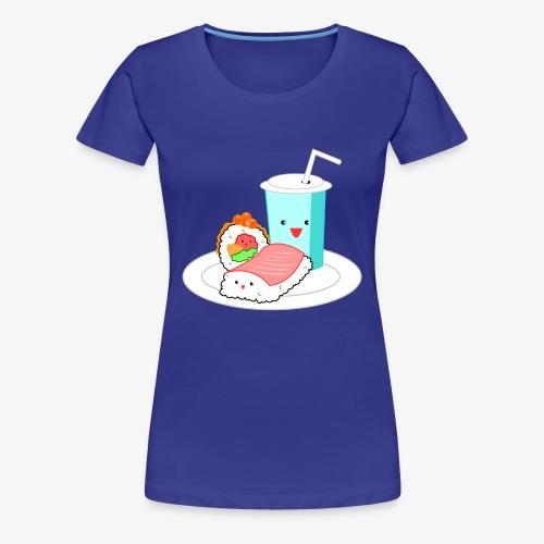 Happy Sushi - Vrouwen Premium T-shirt