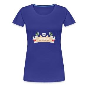 McLight - Premium T-skjorte for kvinner