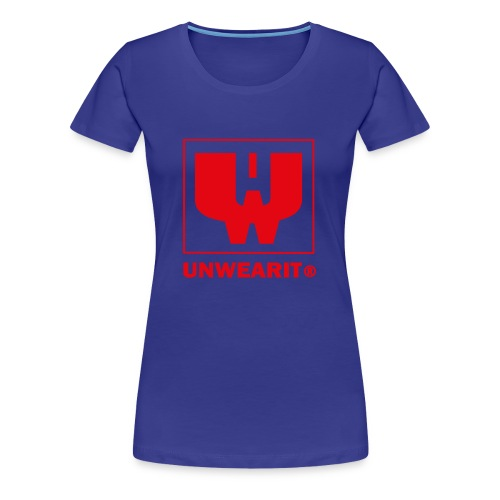 UNWEARIT BASIC LOGO - Maglietta Premium da donna