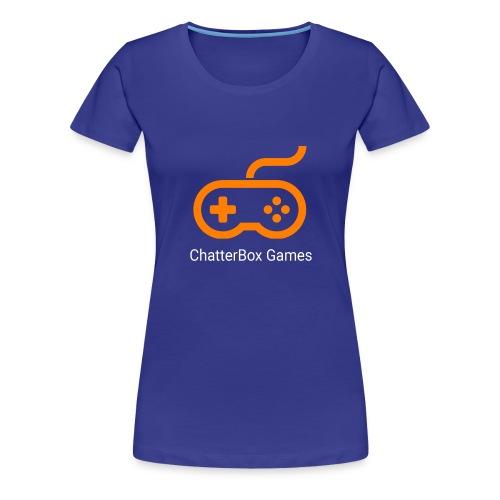 Logo with White Text - Women's Premium T-Shirt