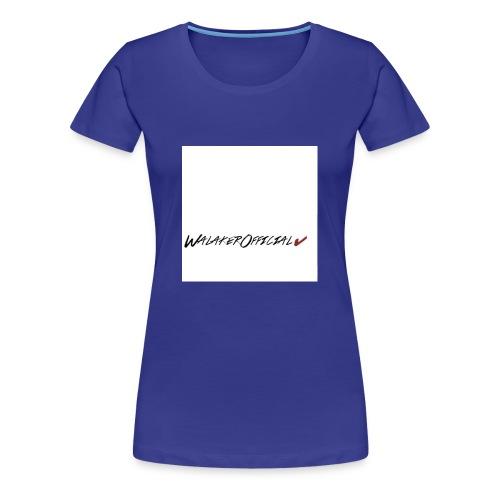 Walaker Official klær - Premium T-skjorte for kvinner