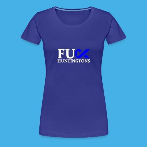 fu huntingtons white - Women's Premium T-Shirt