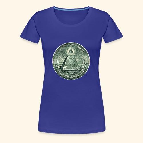 Cogito ergo sum/ ich denke also bin ich (Scam) - Frauen Premium T-Shirt