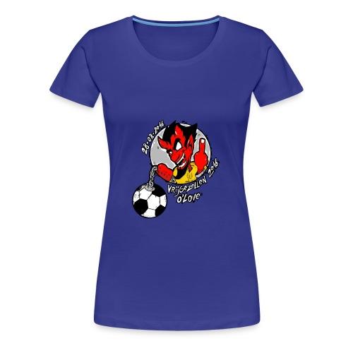 ontwerp_vrijgezellen3 - Vrouwen Premium T-shirt