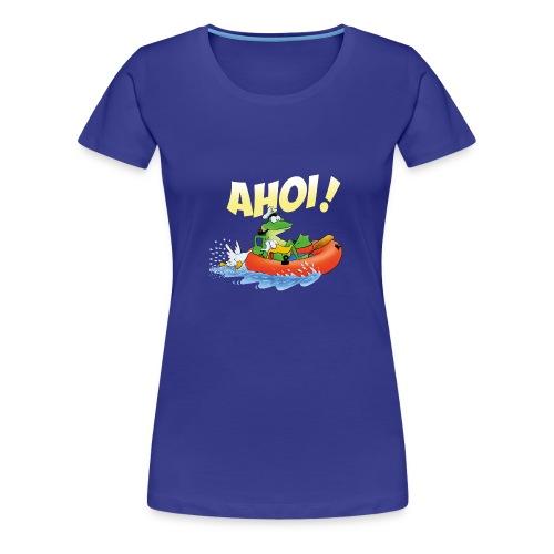 froschspeed ahoi - Frauen Premium T-Shirt