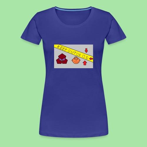 CONSERVER OU OD - T-shirt Premium Femme