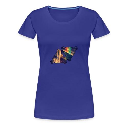 Disconnected Logo T-Shirt - Vrouwen Premium T-shirt