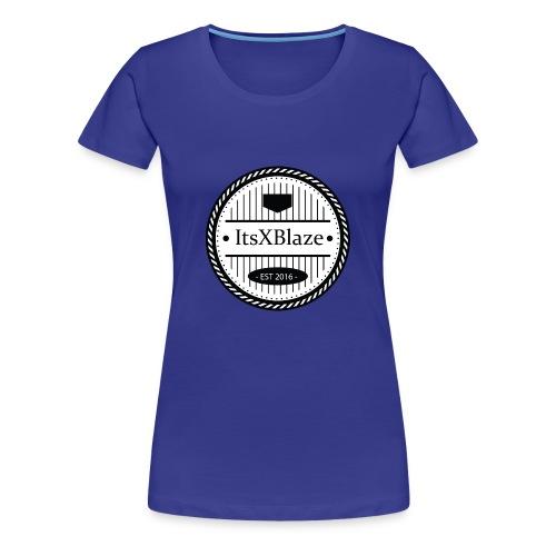ItsXBlaze Logo 3 Hoodie - Vrouwen Premium T-shirt