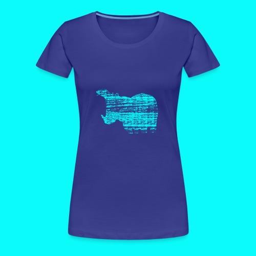 STAFF PICKS - HIPPOPOTAMUS - Premium-T-shirt dam