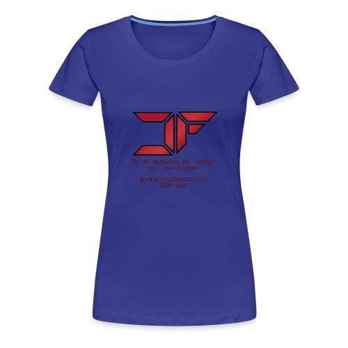 JF White Men - Camiseta premium mujer