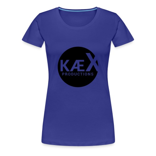 Kæx Hvit Hettegenser - Premium T-skjorte for kvinner