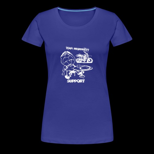 Support - Premium-T-shirt dam
