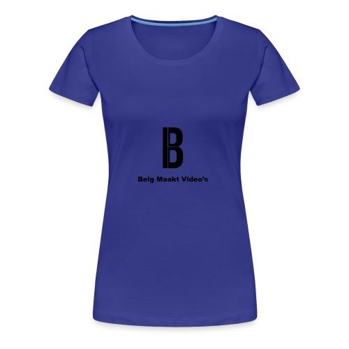Belg Maakt Video's t-shirt - Vrouwen Premium T-shirt