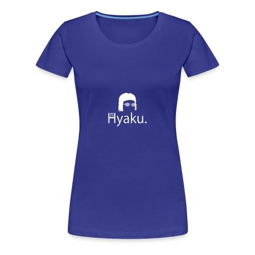 Hyaku White - Premium T-skjorte for kvinner