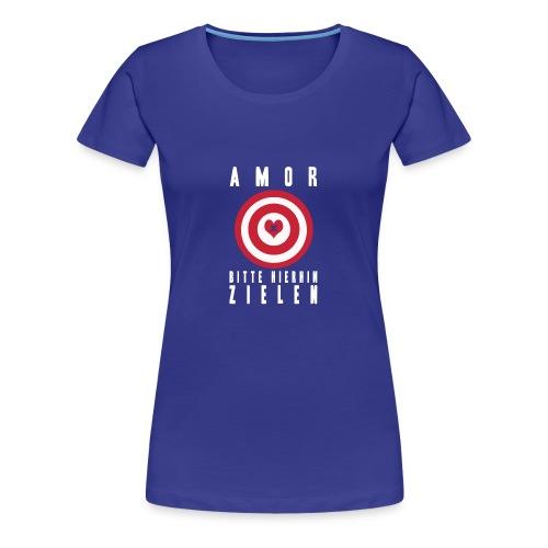 AMORS PFEIL - Frauen Premium T-Shirt