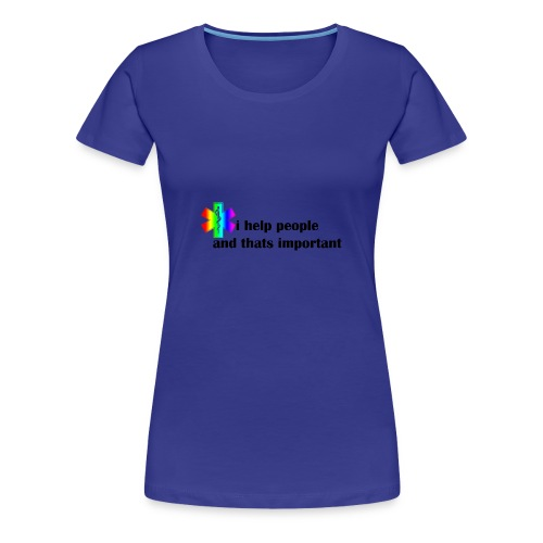 i help people - Vrouwen Premium T-shirt
