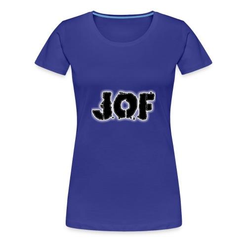 Jof black - Vrouwen Premium T-shirt