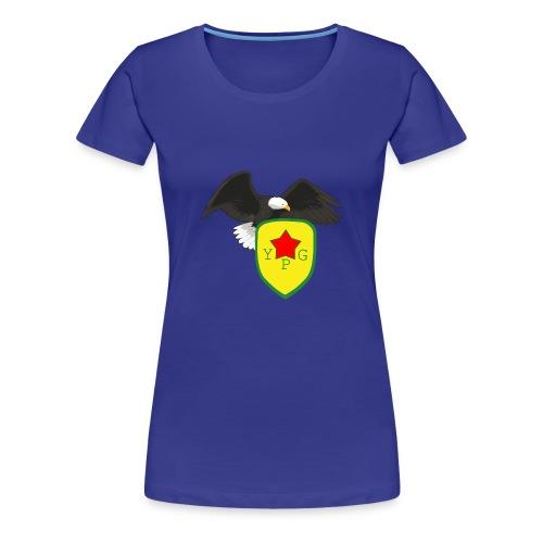 Mens Support YPG Hoodie - Naisten premium t-paita