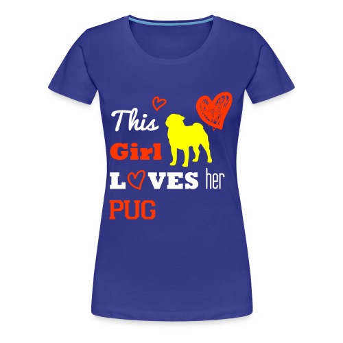 Mops - Frauen Premium T-Shirt