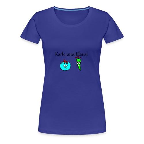 Karlo und Klausi - Frauen Premium T-Shirt