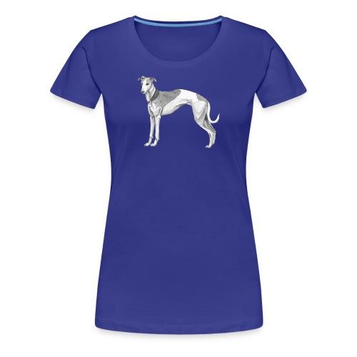 whippet - Dame premium T-shirt