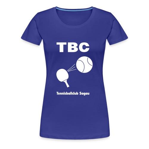 TBC Sagau - Frauen Premium T-Shirt