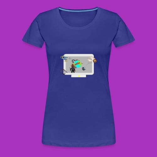 Ordinateur sous influence de Planète GEEK - T-shirt Premium Femme