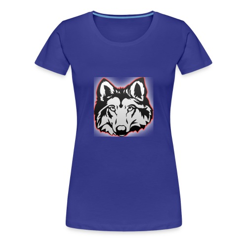 Wolfie (Red) - Women's Premium T-Shirt