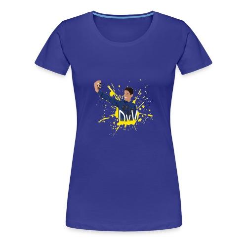 DVV Logo - Vrouwen Premium T-shirt