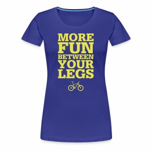 More Fun - Frauen Premium T-Shirt