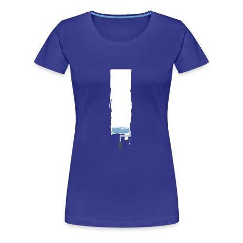 Flat stroke design - Frauen Premium T-Shirt
