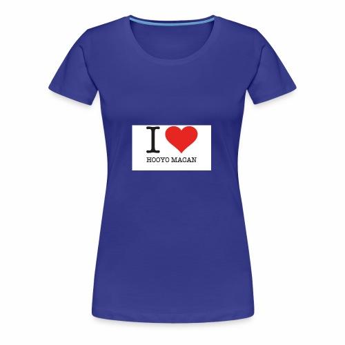 I Love My Mum - Premium-T-shirt dam