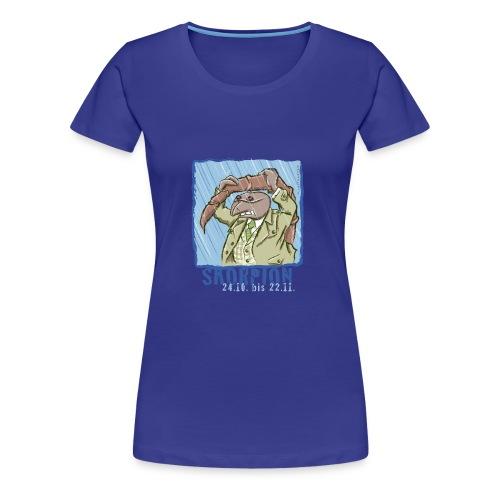 Sternzeichen - Skorpion - Frauen Premium T-Shirt