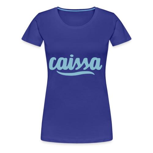 caissa logo - Frauen Premium T-Shirt