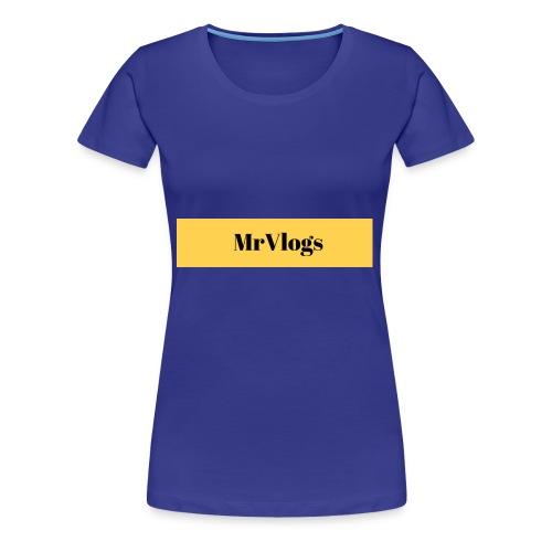 MrVlogs Cool Banner - Women's Premium T-Shirt