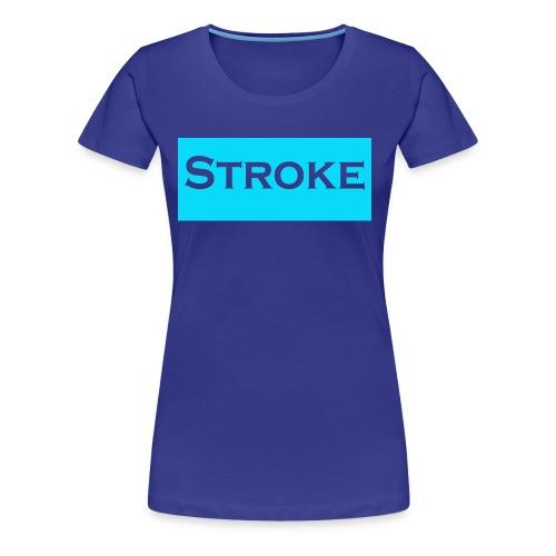 STROKE - Women's Premium T-Shirt