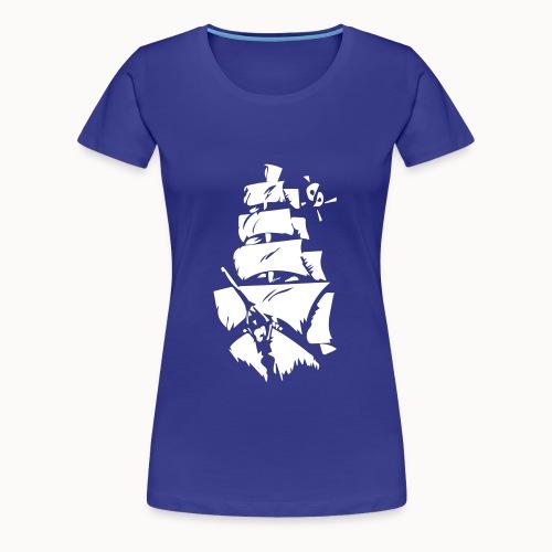 Großer Segler - Frauen Premium T-Shirt