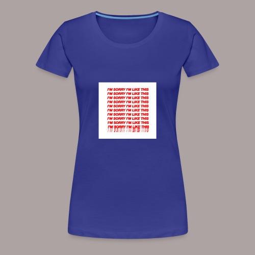 13C670EF F2DE 4BDE A195 F0B0CFF4352F - Frauen Premium T-Shirt
