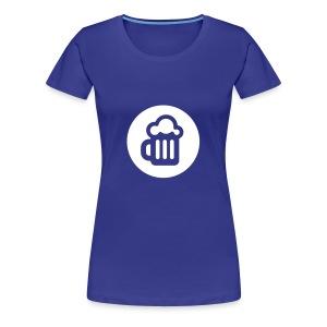 Mørk #internettdager-hettegenser - Premium T-skjorte for kvinner