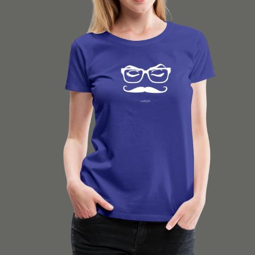 Mousteyeche Longo -bianco- - Maglietta Premium da donna