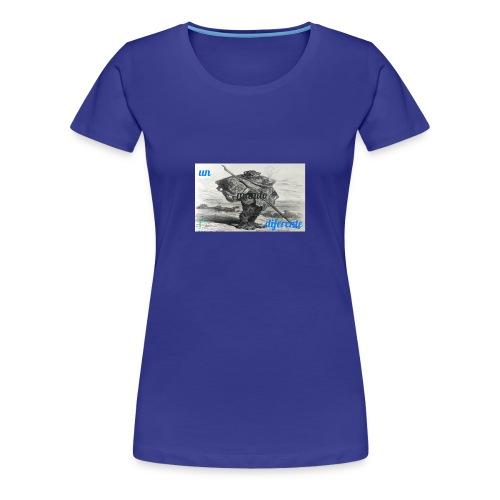 el caminante - Camiseta premium mujer