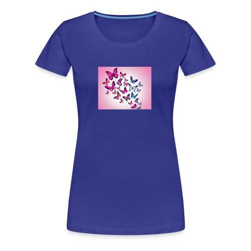 ButterFly - Vrouwen Premium T-shirt
