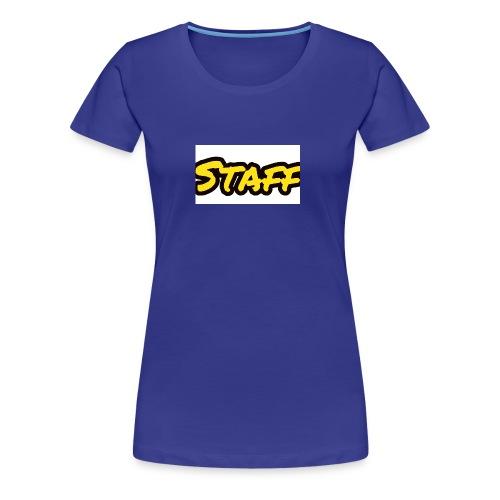 Staff - Premium T-skjorte for kvinner