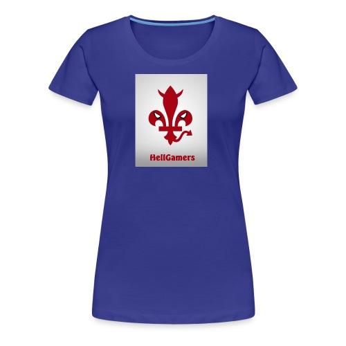 HELLGAMERS - T-shirt Premium Femme