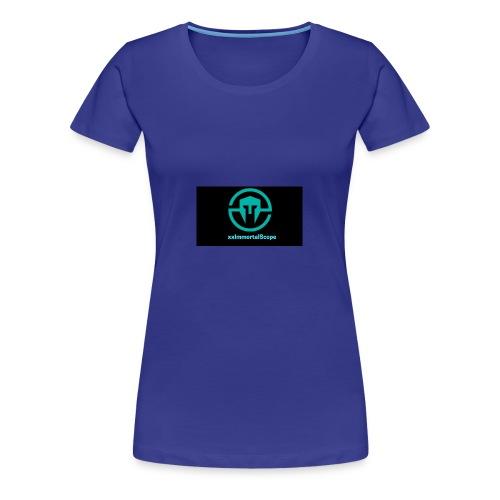 xxImmortalScope throwback - Women's Premium T-Shirt